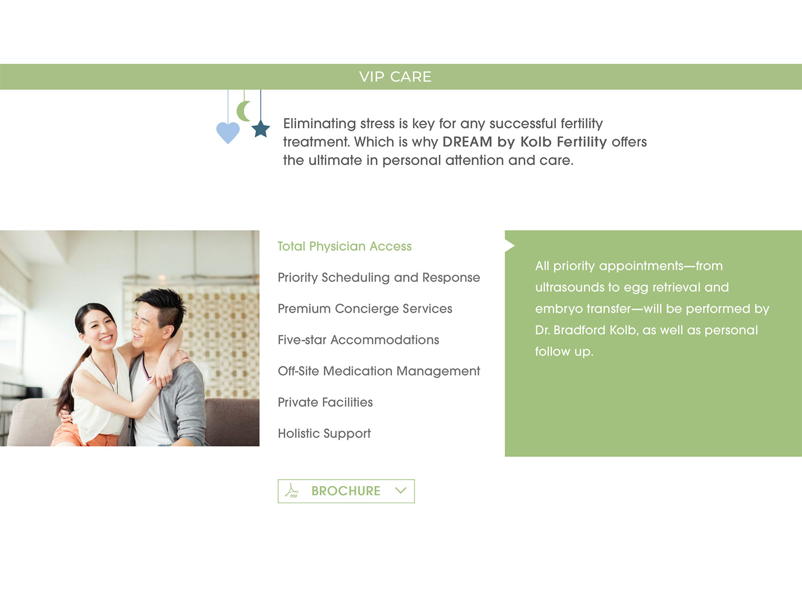 Dream by Kolb Fertility Website Home 2