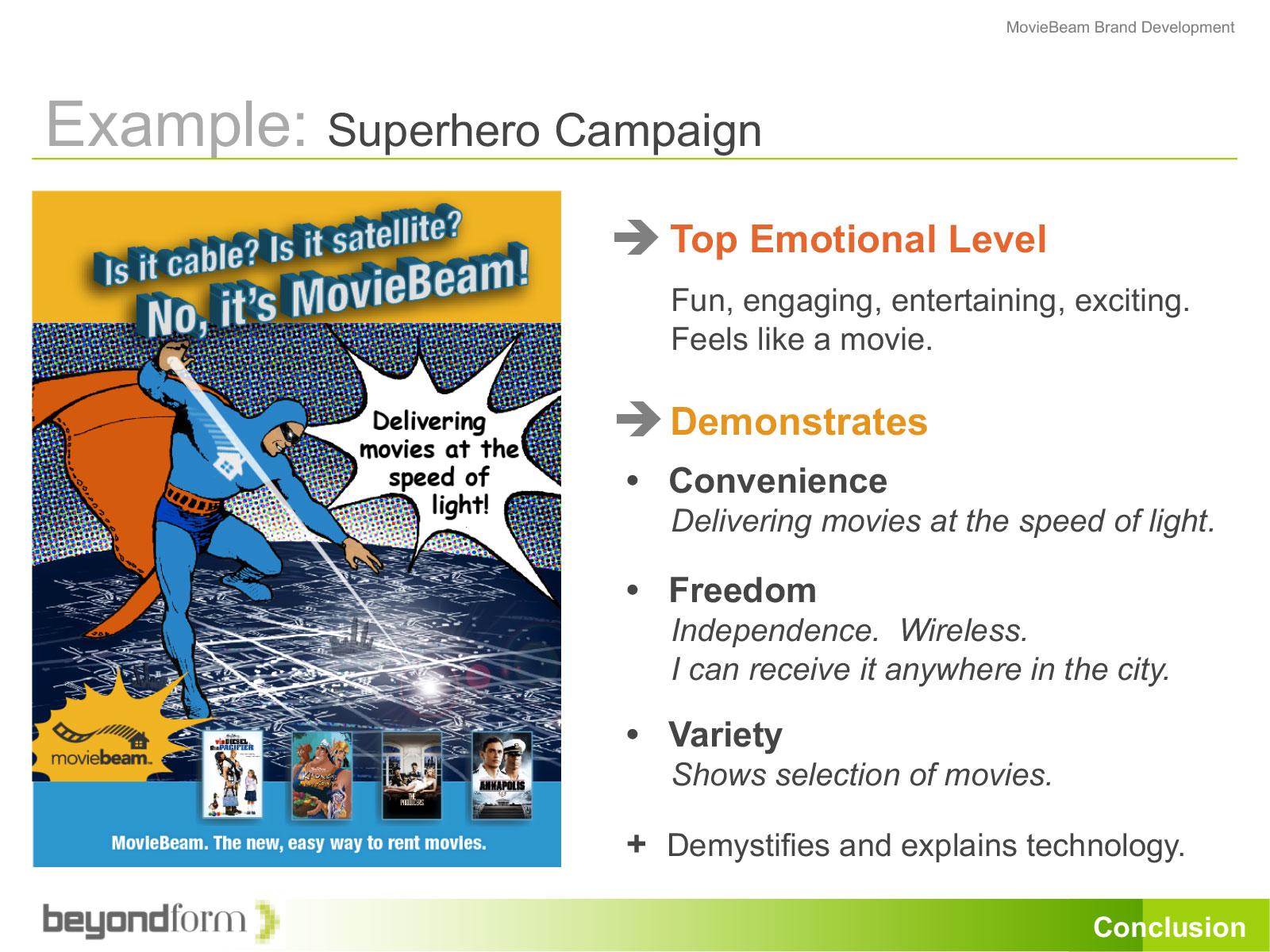 Super Hero Campaign